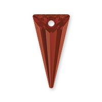 Swarovski Spike Pendant 6480 18mm Crystal Red Magma (1-Pc)