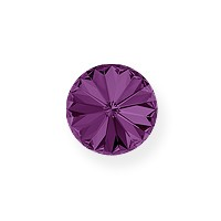 Swarovski 1122 14mm Amethyst Rivoli Chaton (1-Pc)