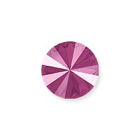 Swarovski 1122 14mm Crystal Peony Pink Rivoli Chaton (1-Pc)