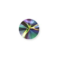 Swarovski 1122 12mm Crystal Rainbow Dark Rivoli Chaton (1-Pc)
