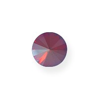 Swarovski 1122 12mm Light Siam Shimmer Rivoli Chaton (1-Pc)