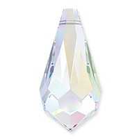 Swarovski Crystal Drop Pendant 6000 15x7.5mm Crystal AB (1-Pc)