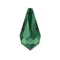 Swarovski Crystal Drop Pendant 6000 11x5.5mm Emerald (1-Pc)