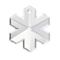 Swarovski 6704 25mm Crystal  Snowflake Pendant (1-Pc)