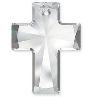 Swarovski Crystal Cross Pendant 6864 40x30mm Crystal (1-Pc)