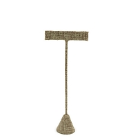 Burlap Earring T Bar Display 5-3/4