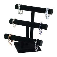T-Bar Jewelry Display Triple 12