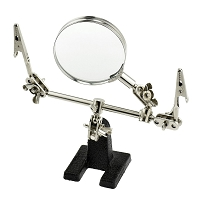 Third Hand Holder with 3X Magnifier