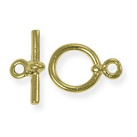 Toggle Clasp - 10mm Gold Plated (Set)