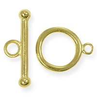 Toggle Clasp 14mm Gold Plated (Set)