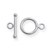 Toggle Clasp - 9mm Sterling Silver Filled (Set)