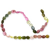 Tourmaline Oval Beads 4x6mm (14 Inch Strand)