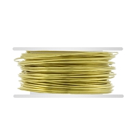 Brass Wire Round 22ga (20-Ft)