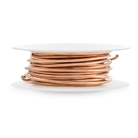 Bare Copper Wire Dead Soft Round 16ga (10-Ft)