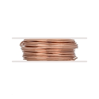 Bare Copper Wire Soft Round 18ga (10-Ft)