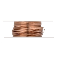 Copper Wire Dead Soft Round 24ga (20-Ft)