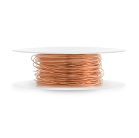 Copper Wire Dead Soft Round 26ga (20-Ft)