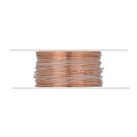 Copper Wire Dead Soft Round 28ga (20-Ft)