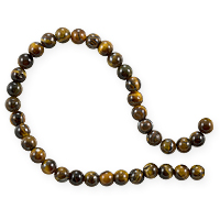 Tiger Eye Beads 6mm (15