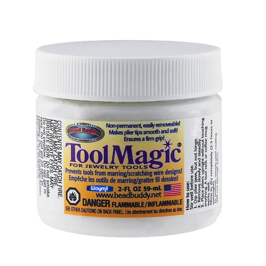 Tool Magic Rubber Solution For Coating Beading Tools To