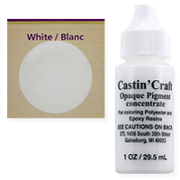 Opaque White Resin Dye (1-Oz)