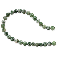 Tree Agate Beads 6mm (15 Inch Strand)