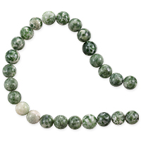 Tree Agate Beads 8mm (15 Inch Strand)
