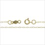 "Cable Chain .80mm 14k Yellow Gold 18"" (1-Pc)"