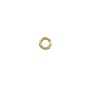 3.5mm 14k Yellow Gold Round Open Jump Ring (1-Pc)