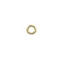 4mm 14k Yellow Gold Round Open Jump Ring (1-Pc)