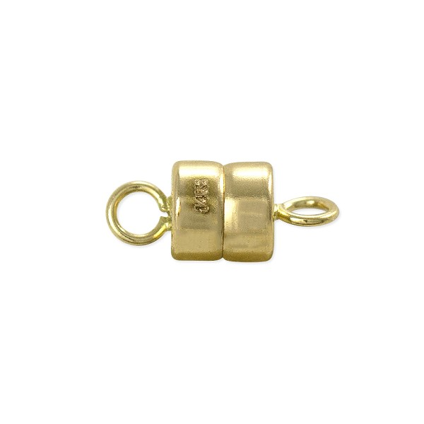 Magnetic Clasp 10x4.3mm 14k Yellow Gold (1-Pc)
