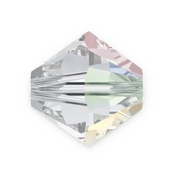 Swarovski 5328 6mm Crystal AB Bicone Bead (10-Pcs)