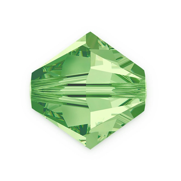 Swarovski 5328 8mm Peridot Bicone Bead (1-Pc)