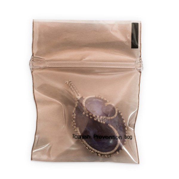 Anti-Tarnish Zip Top Bag 2x2 (10-Pcs)