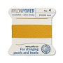 #4 Amber Griffin Nylon Bead Cord (2 Meters)