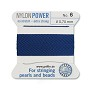 #6 Blue Griffin Nylon Bead Cord (2 Meters)