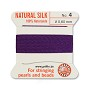 #4 Amethyst Griffin Silk Bead Cord (2 Meters)