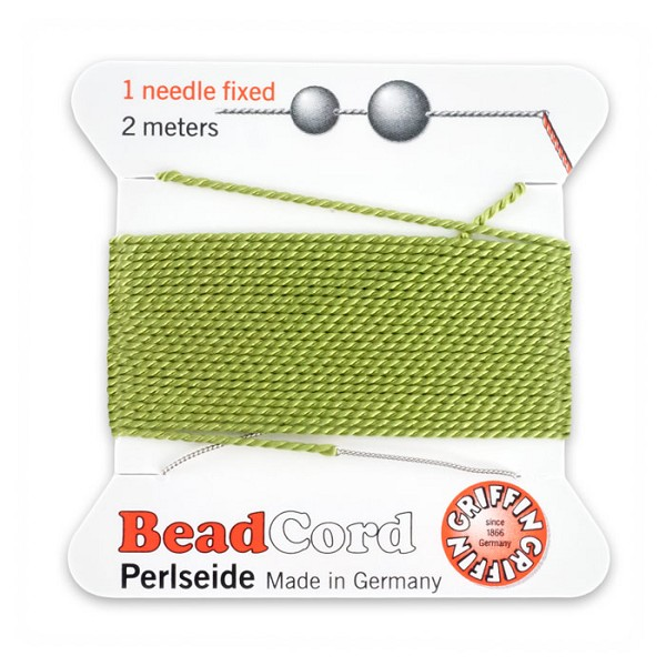 #8 Jade Griffin Silk Bead Cord (2 Meters)