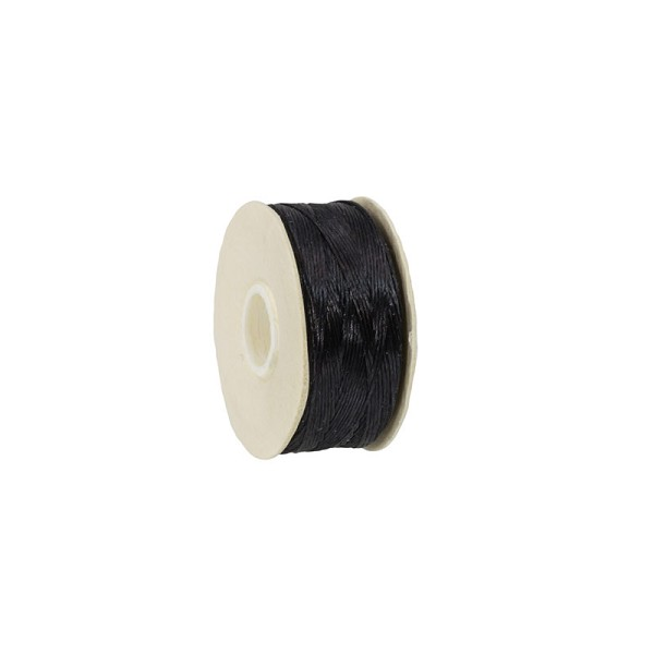 Nymo Nylon Thread Black Size D (58.5 Meters)