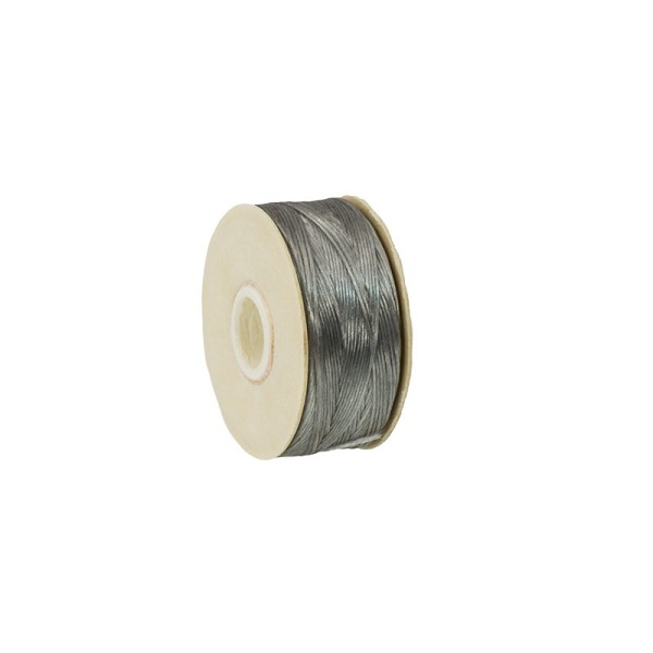 Nymo Nylon Thread Grey Size D (58.5 Meters)