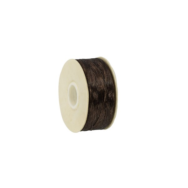 Nymo Nylon Thread Brown Size D (58.5 Meters)