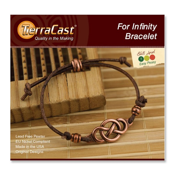 TierraCast For Infinity Bracelet Quick Kit