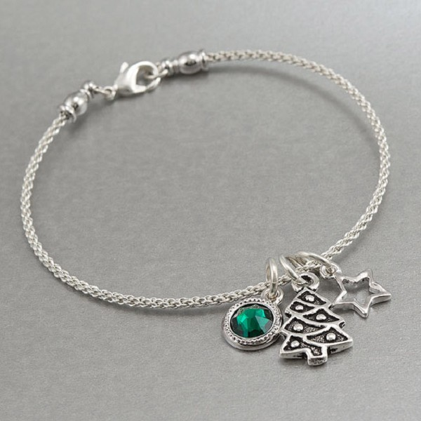 TierraCast Christmas Tree Bangle Bracelet Kit