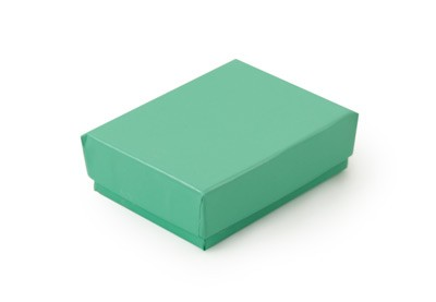Teal Paper Jewelry Box #11