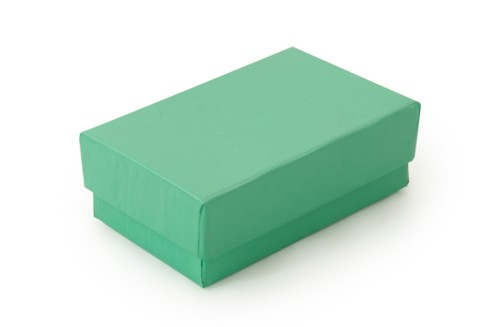 Teal Paper Jewelry Box #21