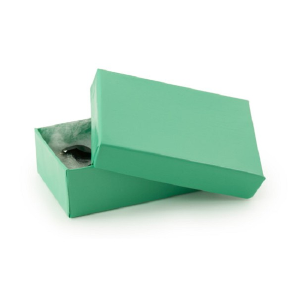 Teal Paper Jewelry Box #32