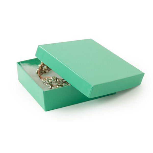Teal Paper Jewelry Box #33