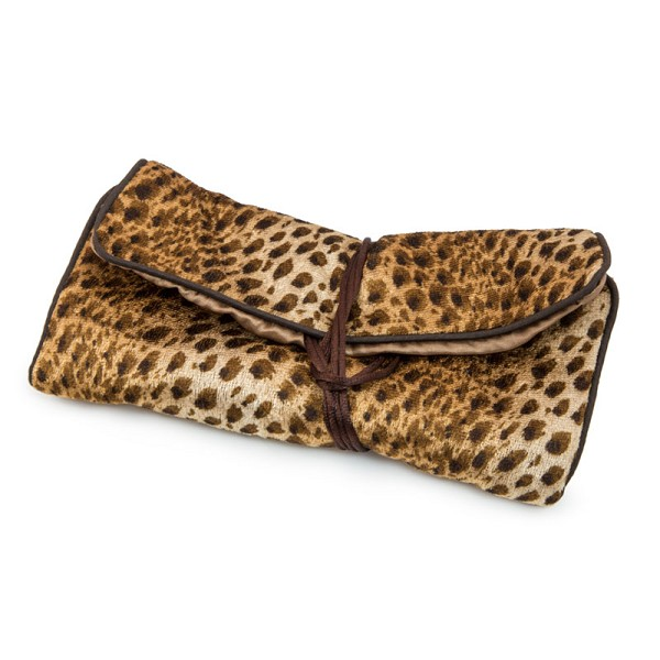 4fa35ecc1f0ce Leopard Print Travel Jewelry Roll