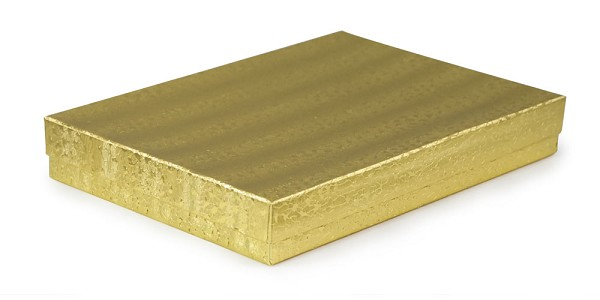 Gold Foil Jewelry Box #75