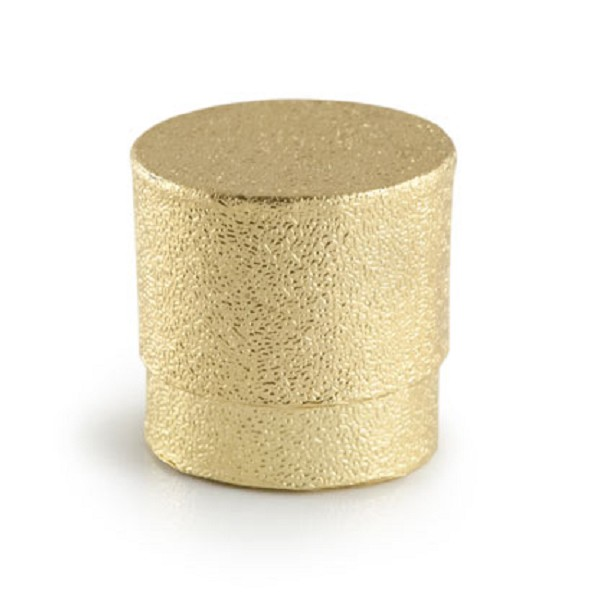 Round Ring Box - Gold